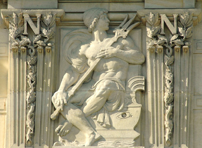 Bas-relief. Charles Gumery.