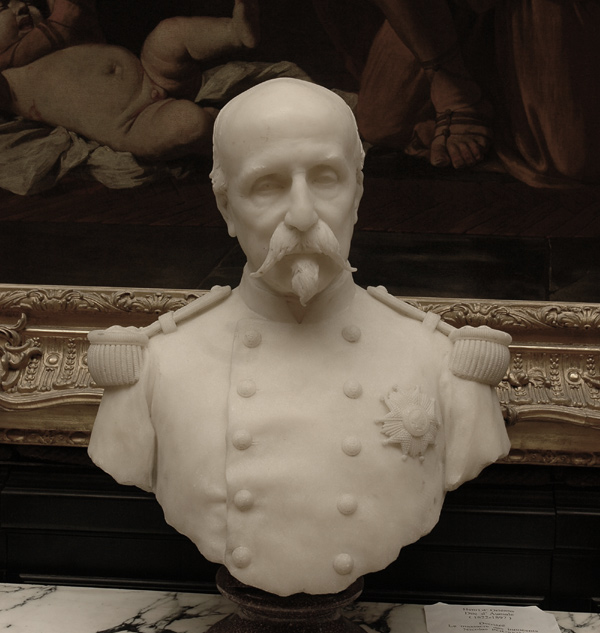 Le duc d'Aumale. Paul Dubois.