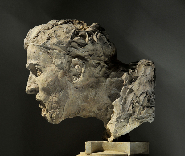 Grand Guerrier. Antoine Bourdelle.
