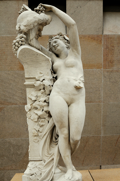 Bacchante. Albert Ernest Carrier Belleuse