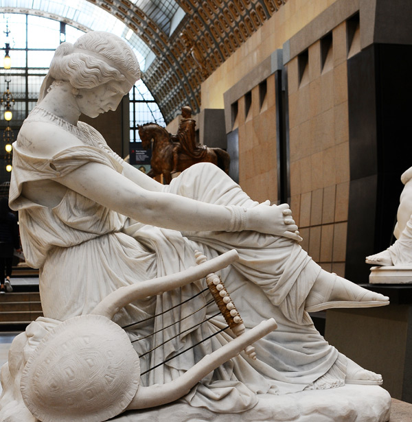 Sapho. James Pradier.