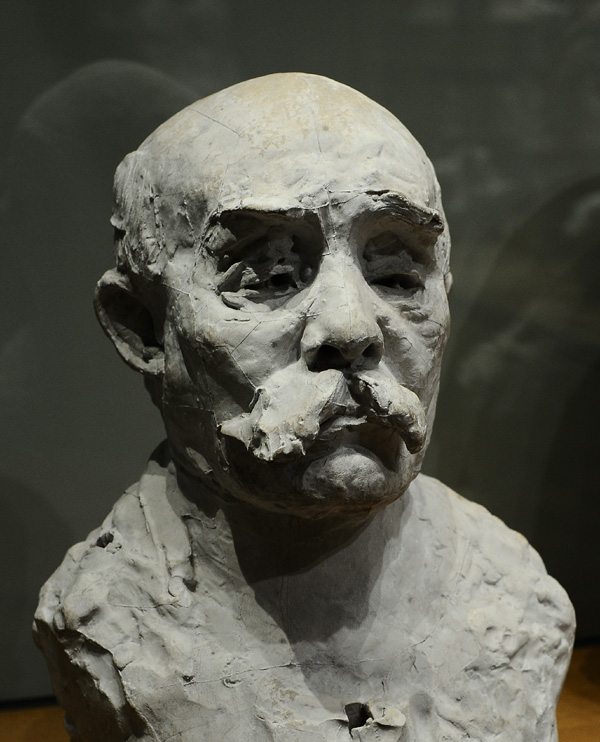 Georges Clemenceau. Auguste Rodin.