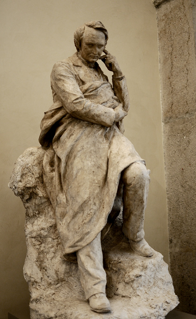 Victor Hugo. Louis Ernest Barrias.