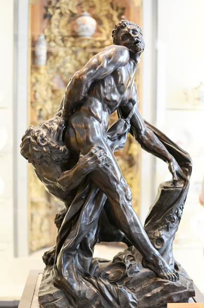 Milon de Crotone. Louis Desprez.