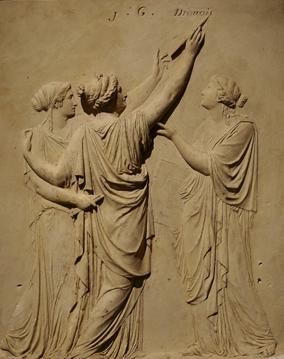Monument à Drouais. Claude Michallon.