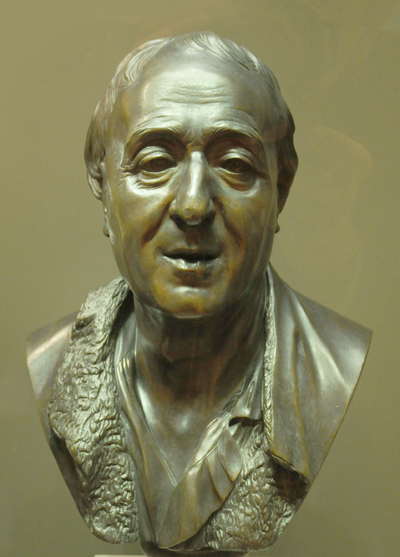 Diderot. Jean Baptiste Pigalle.