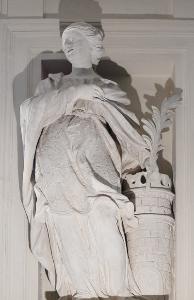 Sainte Barbe. Simon Guillaume.
